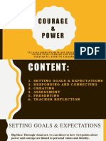power and courage