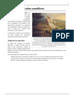 Doctrina Del Destino Manifiesto