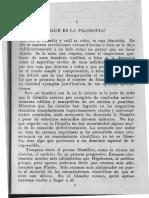 Jaspers, K. La Filosofia. Cap 1 y 2