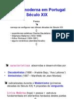 A Lírica Moderna Em Portugal Século XIX