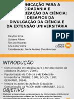 Jornada de Extensu00E3o Da UFPA Agu00EAncia