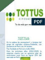 El marketing en Tottus - GM