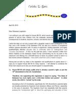 Legislator Letter WOA-signed