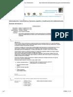 62627720 Autoevaluacion Caracteristicas Funciones Papeles y Clasificacion de La Administracion