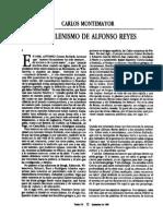 El Helenismo de Alfonso Reyes