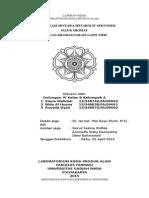 Identifikasi Senyawa Hasil Biosintesis Jalur Sikimat