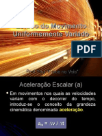 Estudo do Movimento Uniformemente Variado.ppt