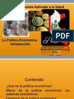 Introducc. Politica Economica 2013