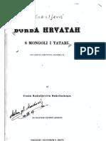 Ivan Kukuljević Sakcinski - Borba Hrvatah s Mongoli i Tatari