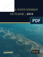Global Wind Energy Outlook