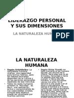 Liderazgo Personal y Sus Dimensiones