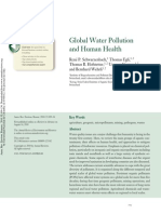Art. Contaminacion Mundial Del Agua y Salud Humana