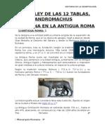 Monografia Roma y Leyes de 12 Tablas