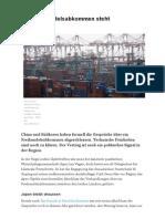 2014-11-12 China-Suedkorea-Freihandelsabkommen NZZ