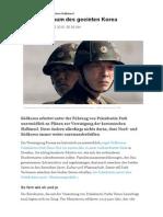 2015-05-03 Vereinigung Koreanischer Halbinsel NZZ