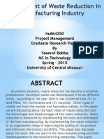 IndM4250 Project Term Paper PPT Bobba