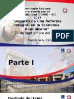 20130930-135308-Impacto de Una Reforma Fiscal Integral en República Dominicana