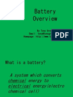 Battery Overview Basic