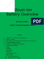 Lithuim Battery Overview