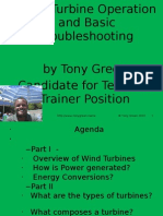 Technical Trainer Presentation About Wind Power