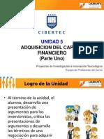 Unidad - 5 - Adquisición de Capital Financiero - Parte Uno