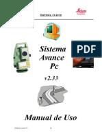 Sistema avance pc 2.33