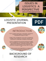 Logistic Journal Presentation