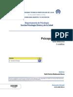 Psicopatología II - Guía Didáctica