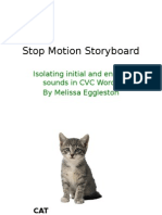 claymation story board