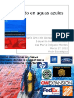 Occ3a9ano Azul Presentacic3b3n