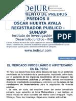 CLASES II Y III DEL CURSO DE SANEAMIENTO DE PREDIOS