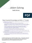 problem solving project doc