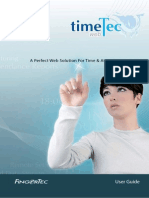 Timetec Manual for Fingertec Biometric
