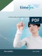 Timetec Manual for Fingertec Biometric
