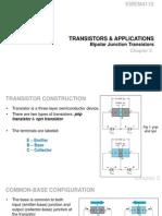 Transistors Applications