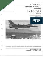 F-16C/D Flight Manual