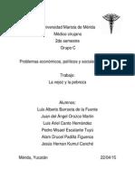 Vejez, Diabetes yPobreza en México