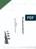 Piaget - El Estructuralismo