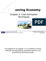 Chapter 3 Cost Estimation Techniques