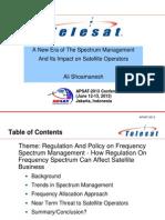 Telesat satellite procurement
