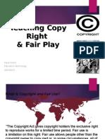 teaching copy right