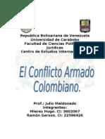 El Conflicto Armado Colombiano