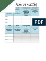 Plan de Acción 201521