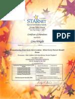 starnet certificate1