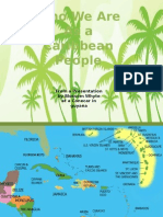 Who We Are as Caribbean People