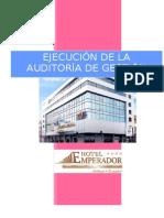 Hotel Emperador Ambato Auditoria de Gestion - Uta