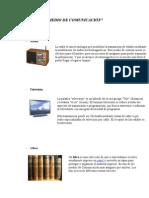 MEDIO DE COMUNICACIÓN