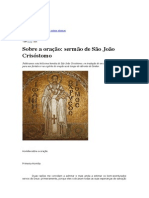 Homilia S. João Crisóstomo