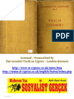 1936 Readings in Leninism What is Leninism No1