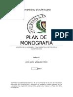 Plan Monografia -Ingenieria Concurrente